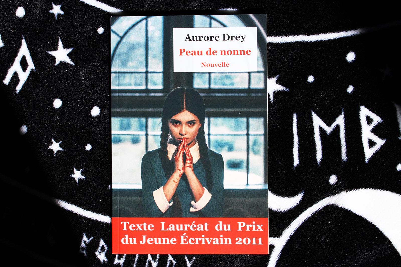 """La nouvelle horrifique """"Peau de nonne"""" par Aurore Drey"""