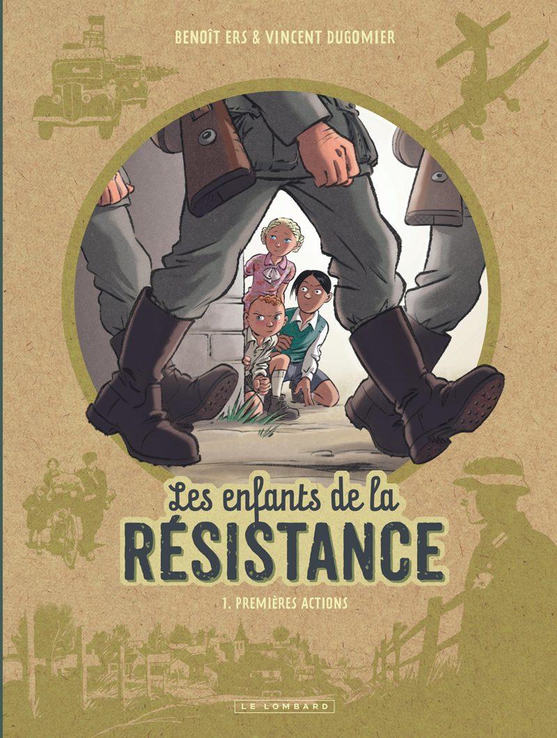 Les enfants de la résistance - BD