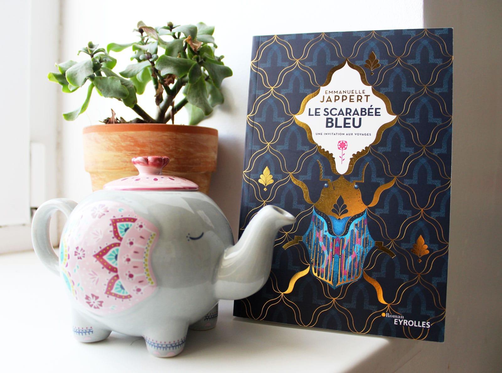 A la découverte du Scarabée Bleu d'Emmanuelle Jappert