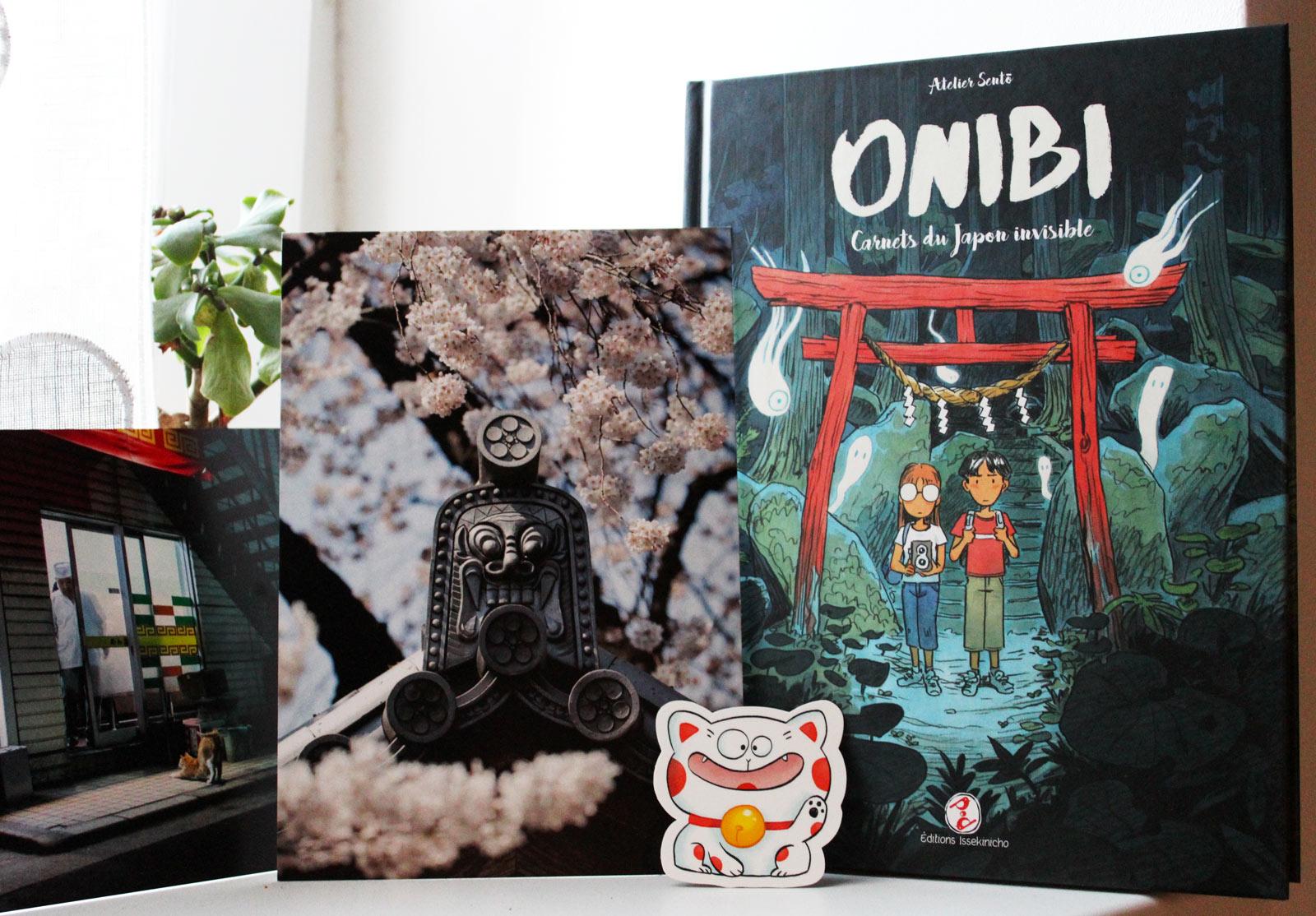 Voyagez au Japon avec le roman graphique Onibi